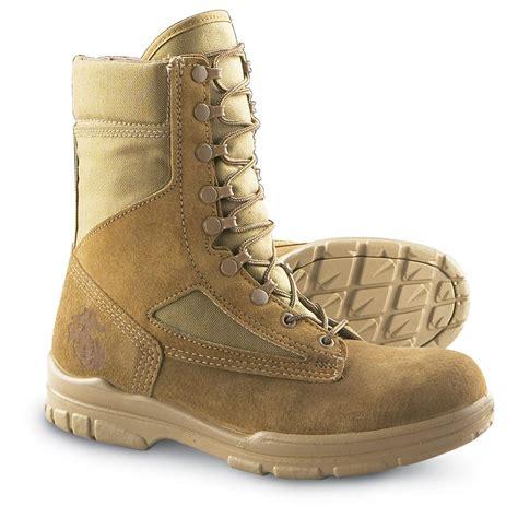 bates boots s bates 174 usmc garrison boots sand 97230 combat