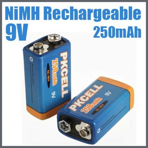 Battery Recharge Krisbow Hf9 250mah 9v 250mah nimh