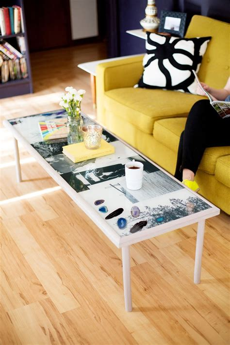 diy epoxy resin coffee table diy furniture diy coffee