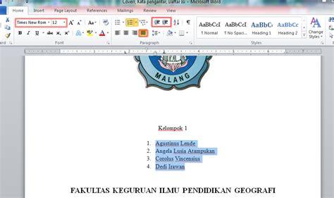 format makalah spasi cara pembuatan makalah terbaik dan terbaru geografi