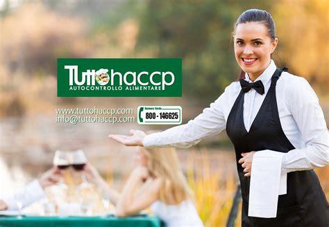 il cameriere attestato haccp per camerieri corso tuttohaccp