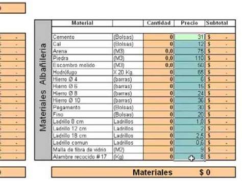 que necesito para comprar un piso calculo de materiales de alba 241 iler 237 a arquitecto mart 237 n