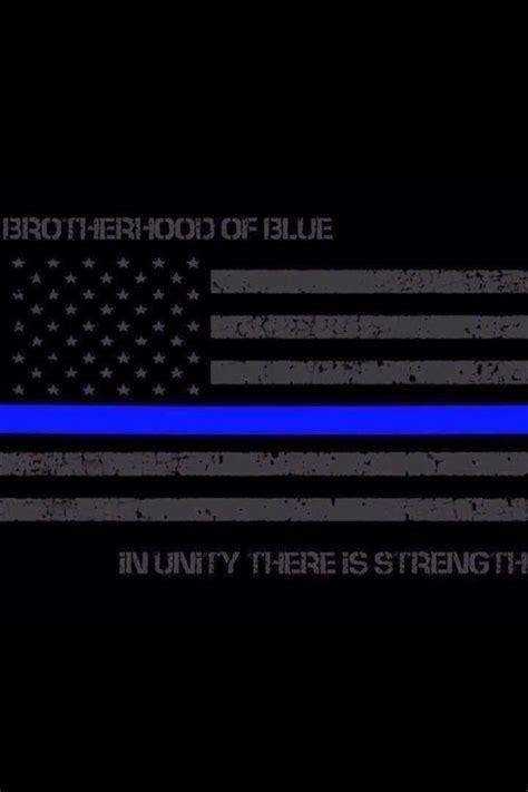the blueline thin blue line pride