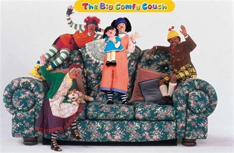 comfy couch videos the big comfy couch popular culture and american childhood