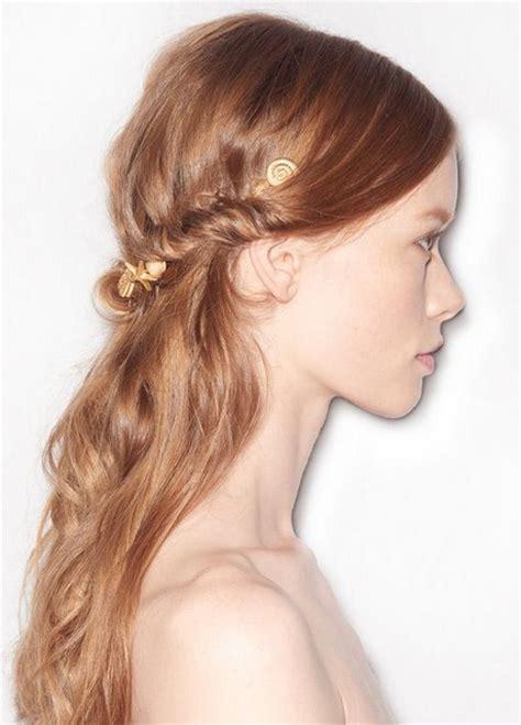 hochsteckfrisuren glatte haare