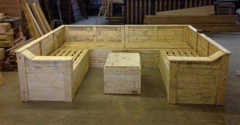 how to make a couch out of pallets pallet made sofa with table pallet ideas recycled