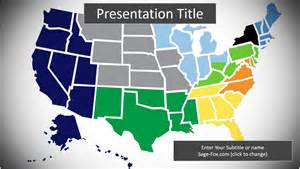 map of the us powerpoint 9516 free map of the us