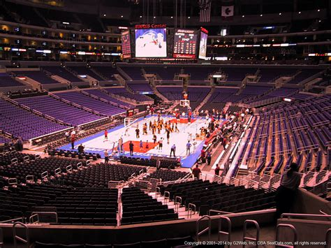 Staples Center Section 215 by Section 206 Seat View