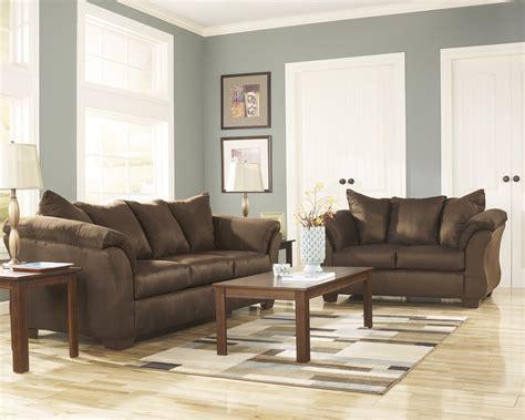 brown sofa and loveseat sets brown microfiber sofa microfiber sofa and loveseat set