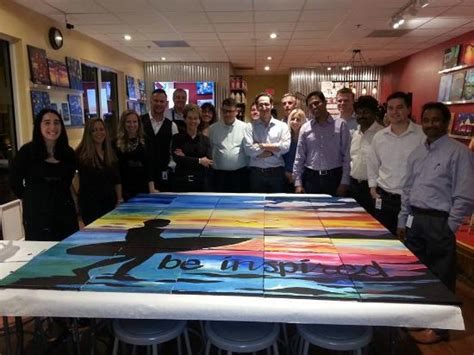 painting for team building team building awesome work picture of painting with a