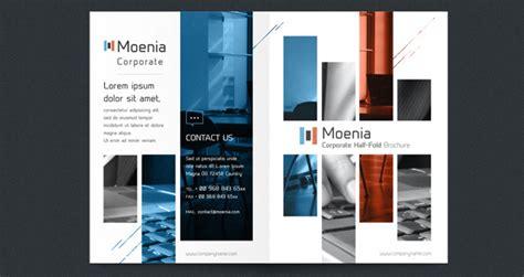 Moenia Bi Fold Brochure Template Brochure Templates Pixeden Bi Fold Template
