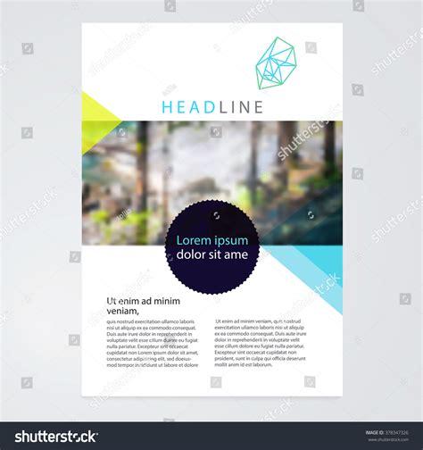 nature brochure template or flyer design stock brochure leaflet flyer poster template stockvector stock
