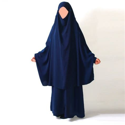 Khimar Et Jilbab Jilbab 2 Pi 232 Ces Marwa Robe Sans Manche Et Khimar Al