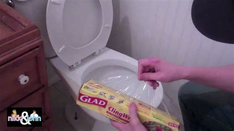 youtube funny bathroom prank saran wrap toilet prank youtube