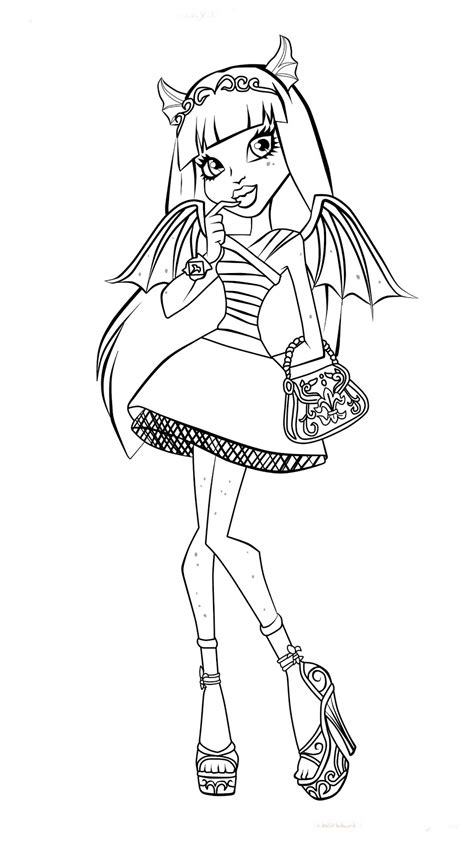 Monster High Sz 237 Nező High Color Page 2