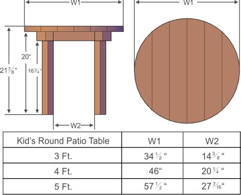 Patio Table Dimensions Home Design Ideas And Pictures Patio Table Dimensions