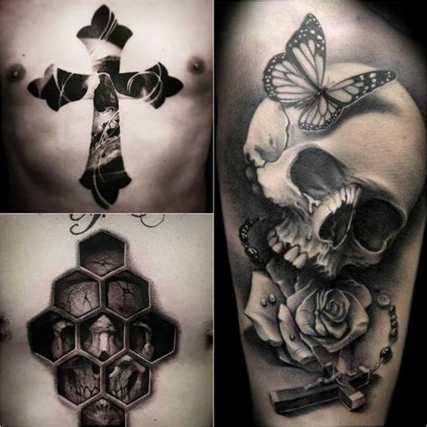 skull and cross tattoos cross tattoos meaningful cross ideas for everyone