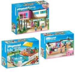 playmobil pack 3 pi 232 ces villa moderne achat vente