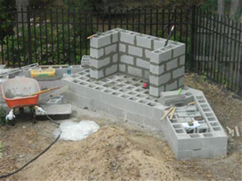 diy cinder block outdoor fireplace how to build an outdoor fireplace with cinder blocks