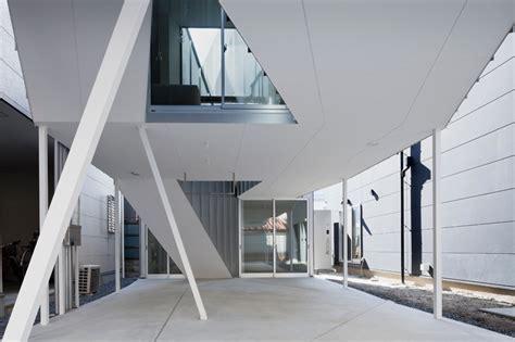 designboom osaka alphaville s three storey dwelling in osaka has no