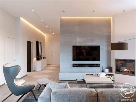 inspiring modern open plan living room in minsk