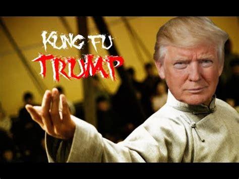 trump  cnn fake news meme wars kung fu trump youtube