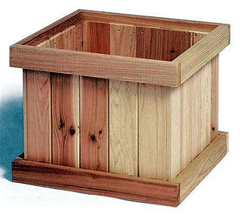 Square Wooden Planter Box Plans by Cedar Creek Woodshop Porch Swing Patio Swing Picnic
