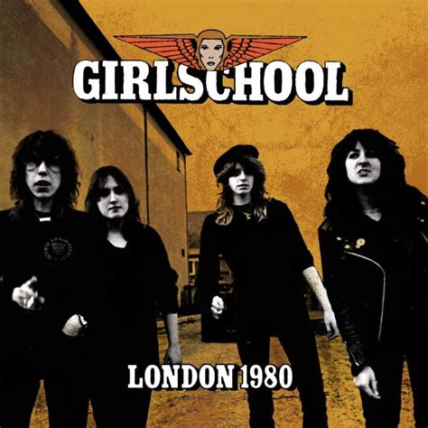 Cd B4u Band Before You girlschool two never before released early 1980s concert recordings to be made available