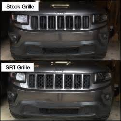 jeep overland srt8 black honeycomb grill inserts item