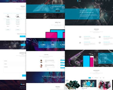 bootstrap free templates for advertising 26 best free bootstrap html5 website templates february