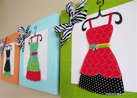 diy decorations sewing dress up canvas tutorial u create
