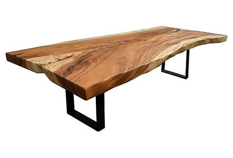 acacia 123 quot dining table
