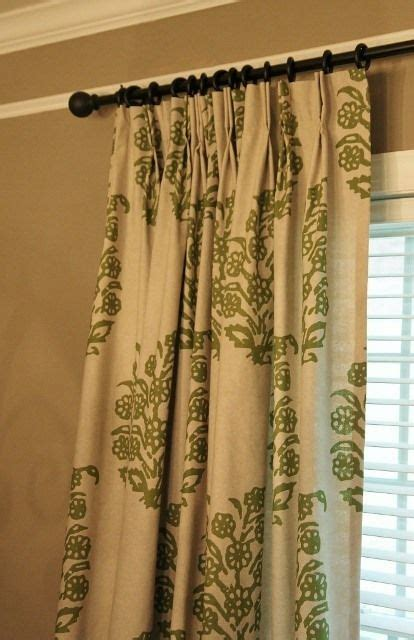 pleated drapes how to make how to add pinch pleats to store bought rod pocket drapes