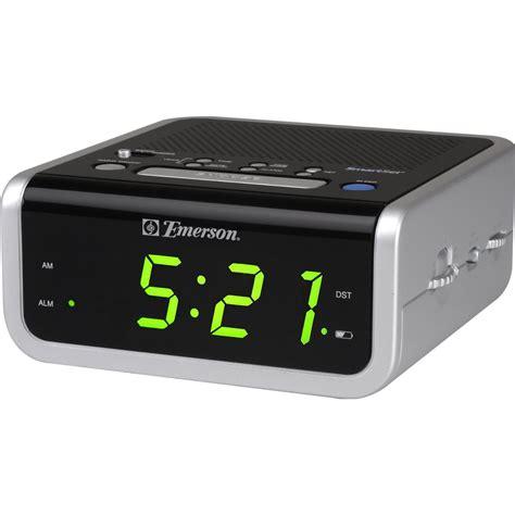 emerson cks1702 am fm smartset clock radio