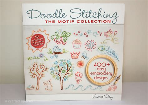 how to do doodle stitching crafted spaces book review doodle stitching the motif