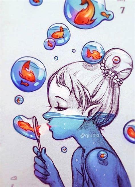daily doodle insta incre 237 bles obras de arte de qinniart amazing artwork by