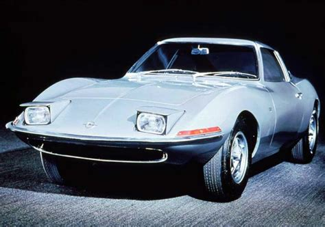opel car 1965 1965 opel experimental gt concepts