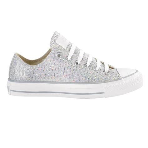 converse glitter sneakers converse silver glitter low rise shoes converse silver