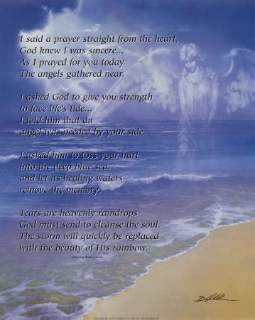 prayers to comfort the grieving bereavement poems 2