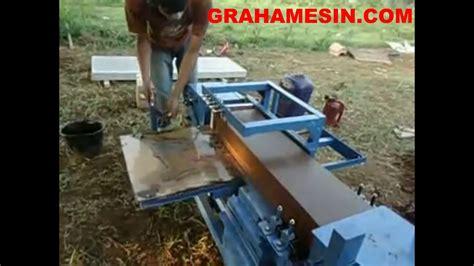 Mesin Obras Gn 1 1 cara membuat batu bata dengan mesin cetak batu bata merah