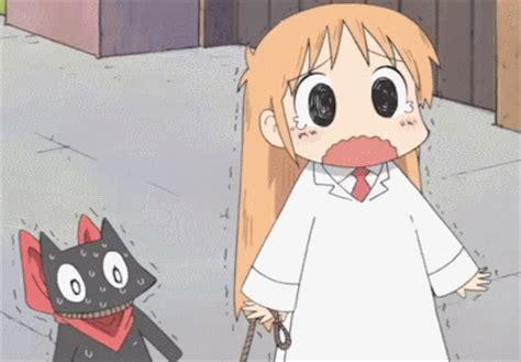 anime comedy nichijou nichijou sakamoto gif manly animes that i
