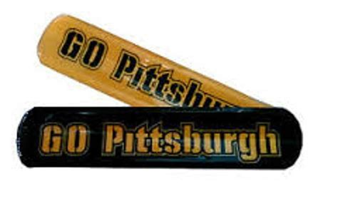 2 pack pittsburgh steelers black and yellow 2 inch wide