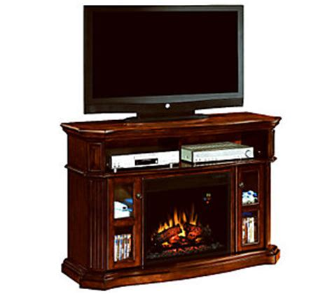 Chimneyfree Media Electric Fireplace by Chimneyfree Aberdeen Electric Fireplace Media Mantel Qvc