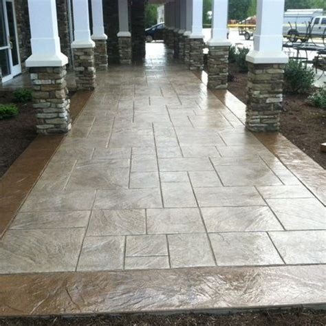 Cement Patio Designs Excellent Sted Concrete Patio Design Ideas Patio Design 298