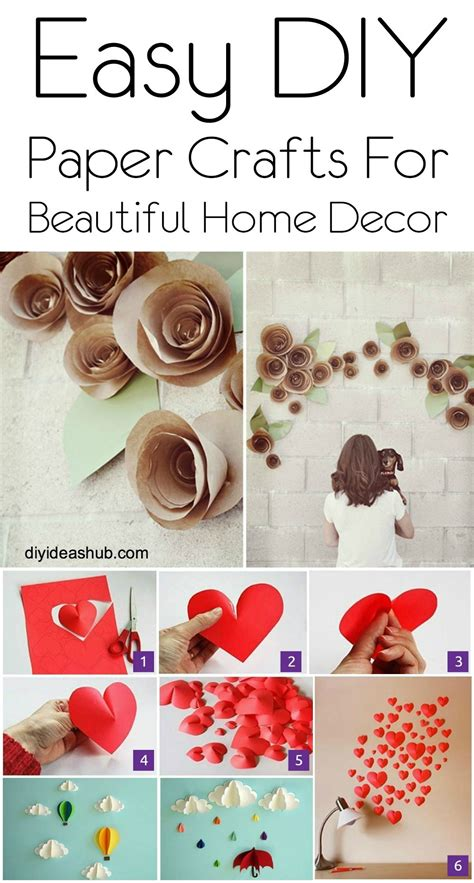 Home Decor Paper Crafts - diy paper crafts for home decor gpfarmasi 0979000a02e6