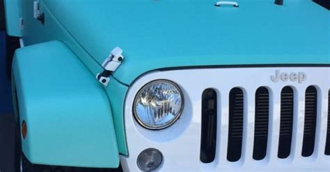 tiffany blue jeep accessories jeffree star s custom matte tiffany blue jeep jeep