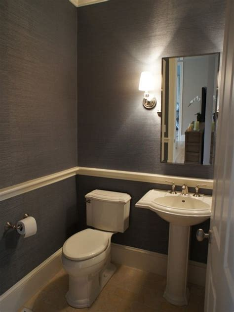 bathroom with chair rail powder room chair rail ideas pictures remodel and decor
