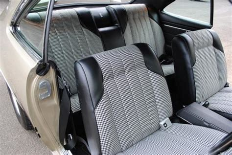 New Home Interiors ht gts houndstooth seats
