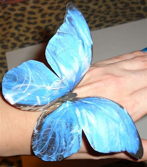 Butterfly Paper Craft - paper butterfly crafts crafting
