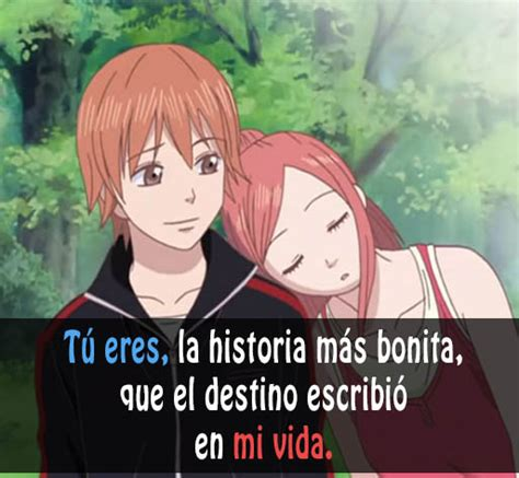 imagenes anime frases pin frases anime amor imagenes con bonitas downloads